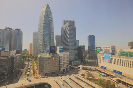 Tokyo, Japan cityscape at Shinjuku skyscraper district