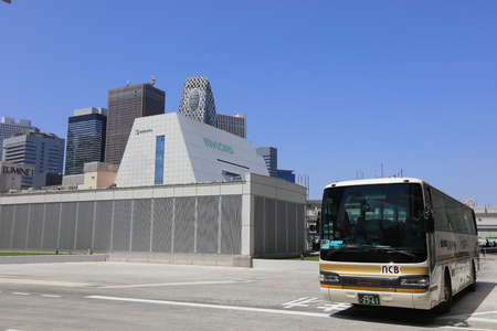 a new bus terminal opened on top of Shinjuku Station