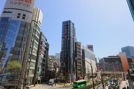 the Street view of Nishi Shinjuku Shopping street 2016