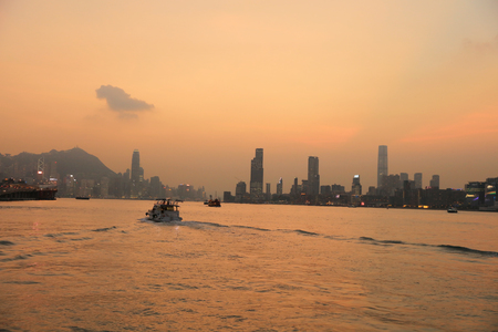 view of between kwun tong to north point