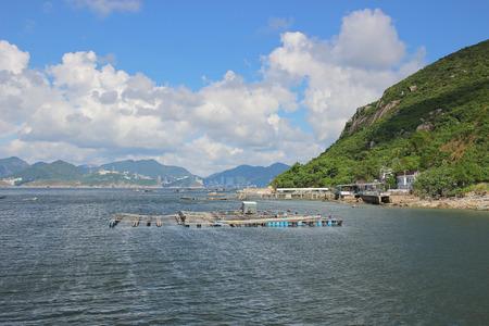 the Sok Kwu Wan, east  Lamma Channel, hong kong