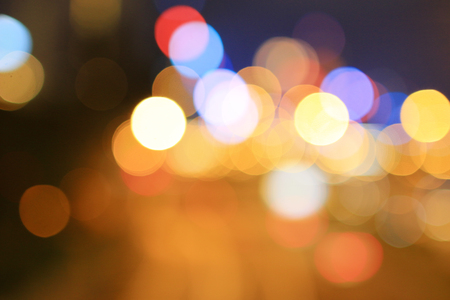 Abstract color blurred bokeh background.at hk
