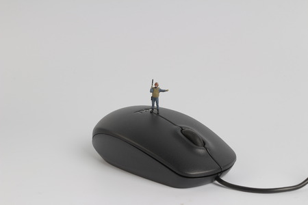 the min SWAT team on top of  mouse