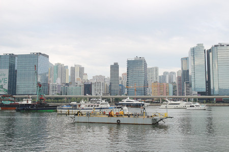 te Kwun Tong Typhoon Shelter at kwun tong