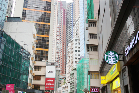 the office and apartment at sheung wan