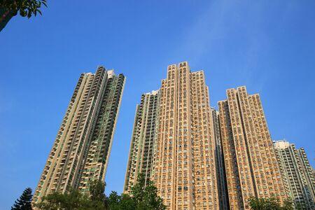 Hong Kong housing apartment block Tsuen Wan
