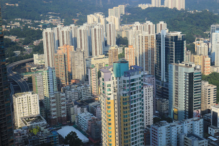 the east part of Tsuen Wan district