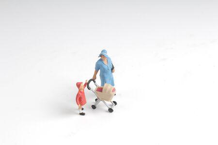 the mini world of a fun figure Reklamní fotografie - 91791463