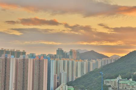 view of Po Shun Road at Tseung Kwan O Editorial
