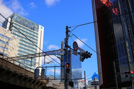 the Osaka Umeda district that is served Редакционное