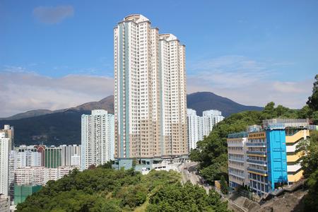 view of Kwai Fong, Tsuen Wan district