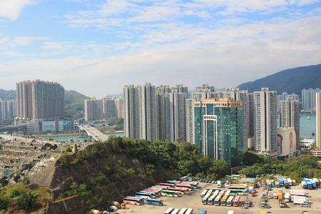 the Kwai Tsing District at hong kong 2017