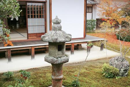 fall season at Genko anTemple, Kyoto,Japan Stock Photo - 93520835