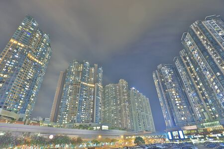 the luxury apartment in Hong Kong at tko