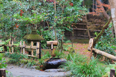the beautiful zen garden by  Gio ji Templgarden