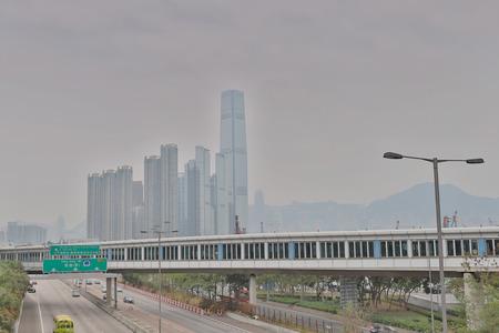 Downtown of Hong Kong, high density at Tai Kok Tsui