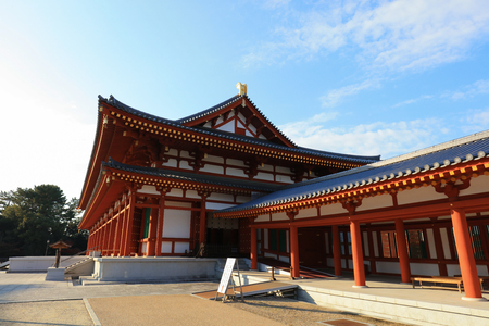 Yakushi ji Temple in Nara, Unesco world Heritage site, Japan