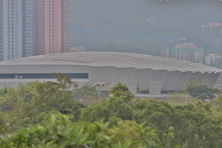 the Hong Kong Velodrome at 2018 hk Stock Photo - 96581252