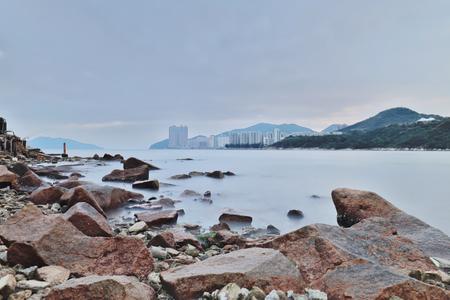 Lei Yue Mun, kwun tong Hong Kong 版權商用圖片