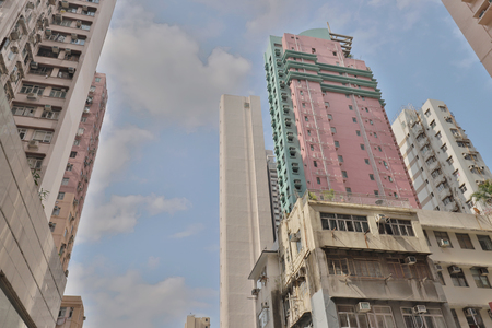 a residential buildings at mid level hk