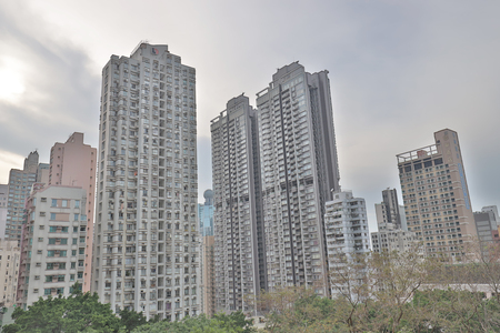 a residential area at mid level hong kong
