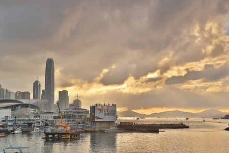 Gateway of HK Skyline of Victoria Harbour