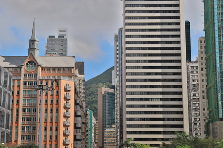 modern office building at Wan Chai,  HK