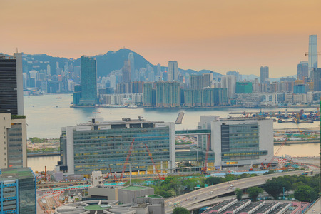 industry building and a Business Area at kowloon