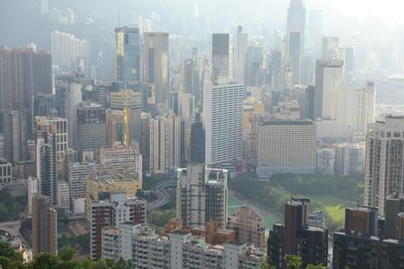 island view from Braemar Hill, Hong Kong.