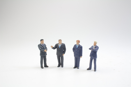 the executive of business men hand shaking