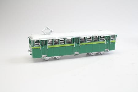 the model figure of toys of peak tram 版權商用圖片