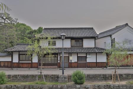 Historic Bikan District in a Kurashiki, Okayama Stock Photo