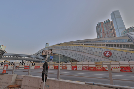 a Construction works of HK Express Rail Link Editorial