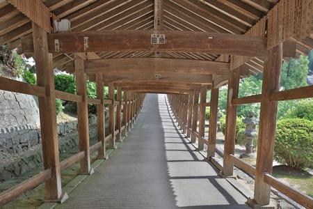a Small Uka Shrines garden Fugenin temple Editorial