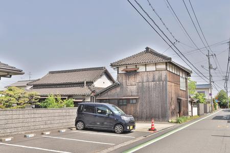 an area of residential at Okayama Japan