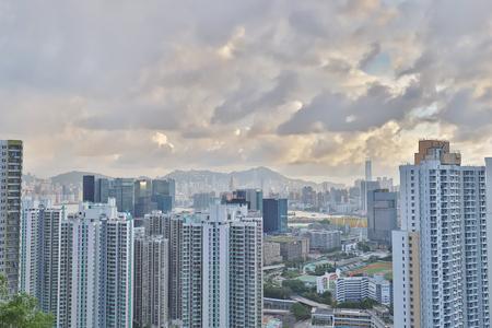 Cha Liu Au Ping Shan view of kowloon