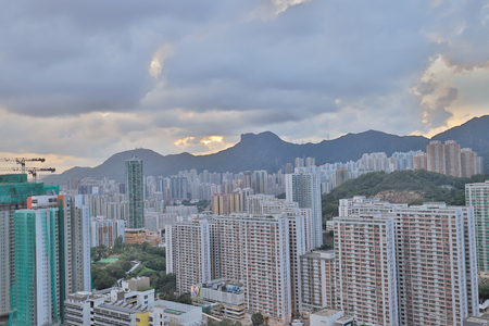 Jordan Valley Ping Shan view of kowloon 写真素材