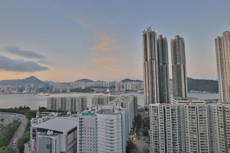 Residential building area at Sai Wan Ho 版權商用圖片