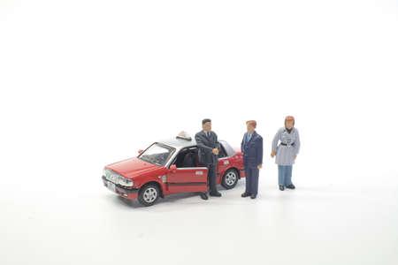 the model taxi at hong kong china