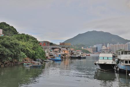 Lei Yue Mun fishing village a small community