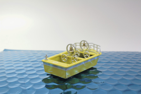 the fun of figure  theme park boat