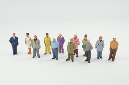 the group of the small people figure