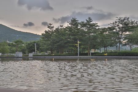 a Hong Kong Velodrome Park at summer Stock Photo - 109273935