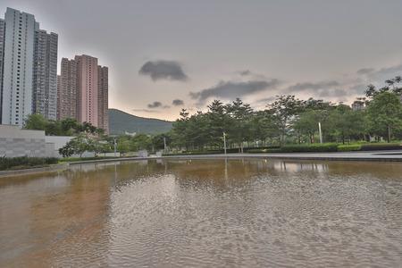 a Hong Kong Velodrome Park at summer