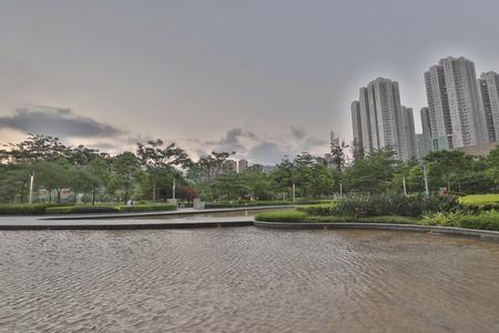 a Hong Kong Velodrome Park at summer Stock Photo - 109274223