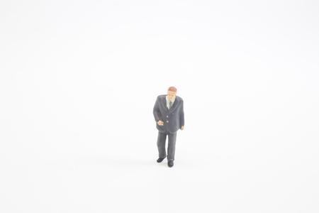the small business figure meeting on board 版權商用圖片