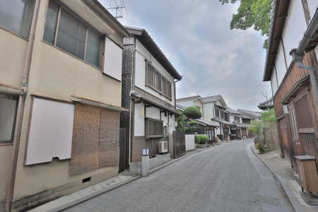 Kurashiki at Japan,  a Bikan historical area.