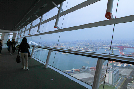 a tall building of WTC at osaka