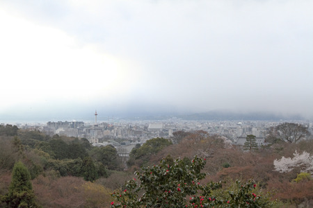 a Kiyomizu Dera Temple in Kyoto japan