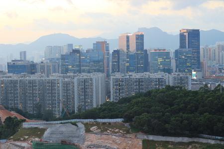 yau tong view of hong kong city